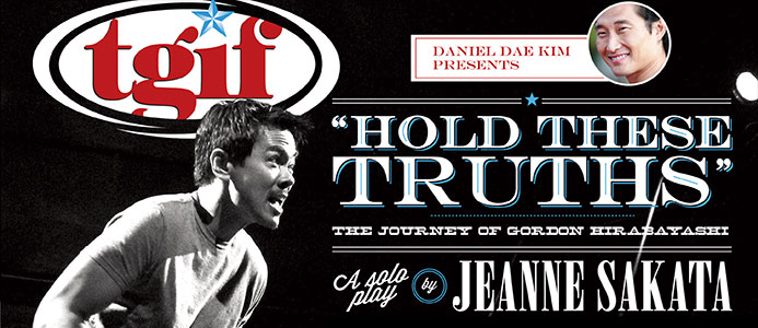 """Daniel Dae Kim Presents HOLD THESE TRUTHS"" on the cover of the Honolulu Star"