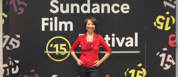 Jeanne Celebrates With Team ADVANTAGEOUS at 2015 Sundance Film Festival World Premiere — Special Jury Award for Collaborative Vision***