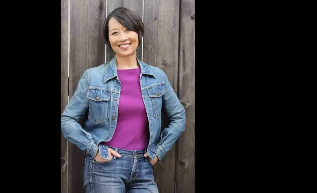 Jeanne Sakata Portrait in a Denim Jacket