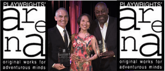 Jeanne Honored with Lee Melville Award for Outstanding Contribution to LA Theater at Playwrights' Arena 2016 HOT NIGHT Gala