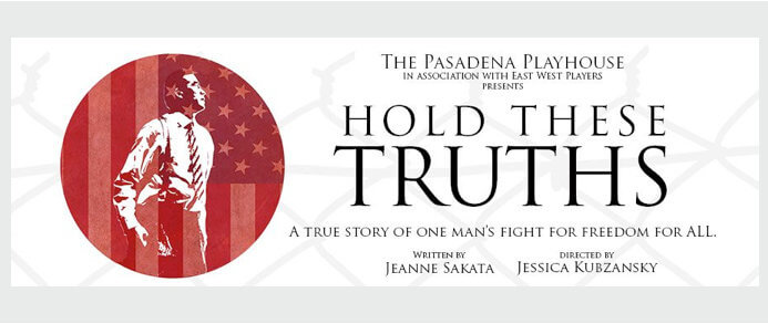HOLD THESE TRUTHS Announced in 2017-18 Seasons of Pasadena Playhouse & Washington DC's Arena Stage